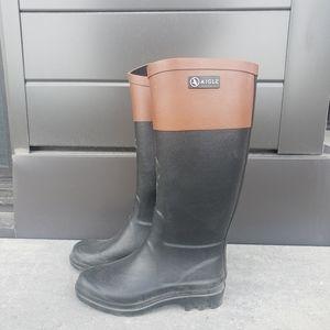 aigle rain boots